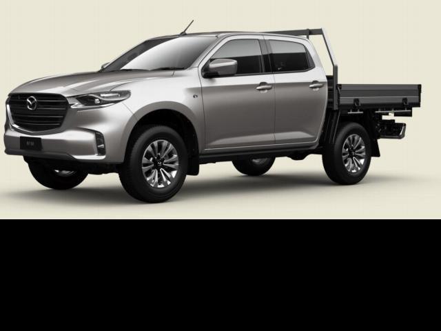 2021 Mazda BT-50 Mazda BT-50 B 6MAN 3.0L DUAL CAB CHASSIS XT 4X4 Ingot Silver