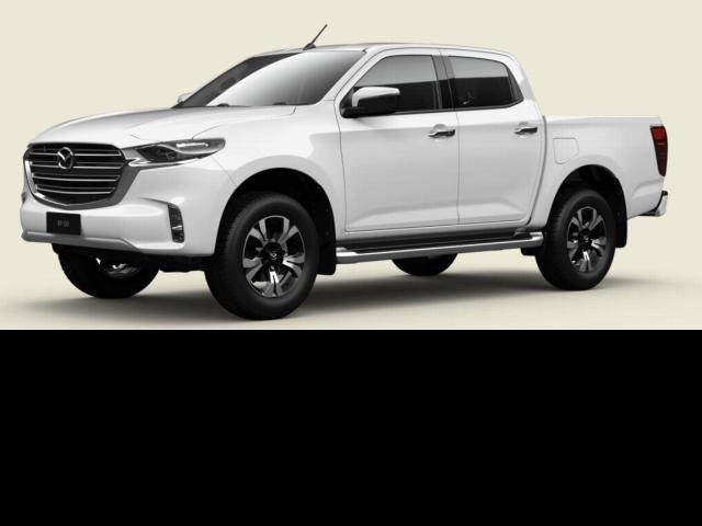 2021 Mazda BT-50 Mazda BT-50 B 6AUTO 3.0L DUAL CAB PICKUP XTR 4X2 Ice White
