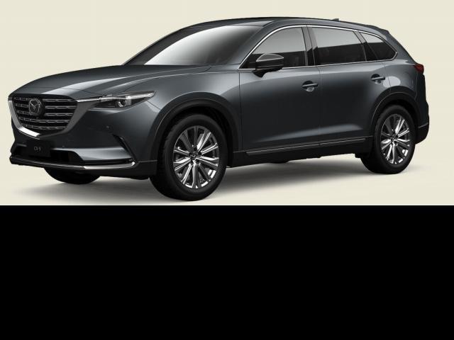2021 Mazda CX-9 Mazda CX-9 L 6AUTO AZAMI LE AWD Machine Grey