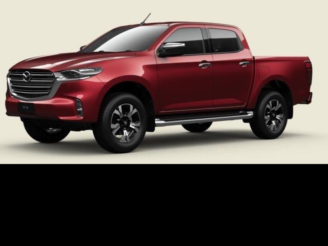2021 Mazda BT-50 Mazda BT-50 B 6AUTO 3.0L DUAL CAB PICKUP GT 4X4 Red Volcano