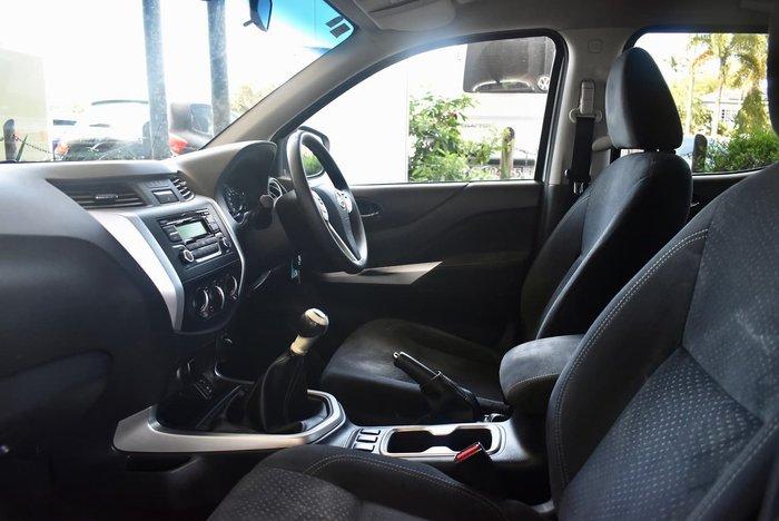 2015 Nissan Navara RX D23 4X4 Dual Range Silver
