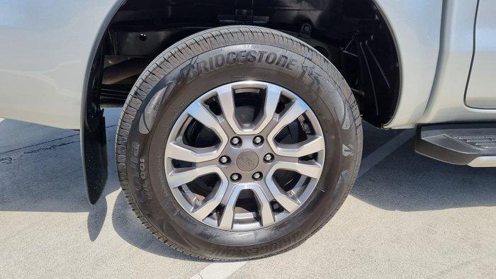 2017 Ford Ranger Wildtrak PX MkII 4X4 Dual Range Ingot Silver