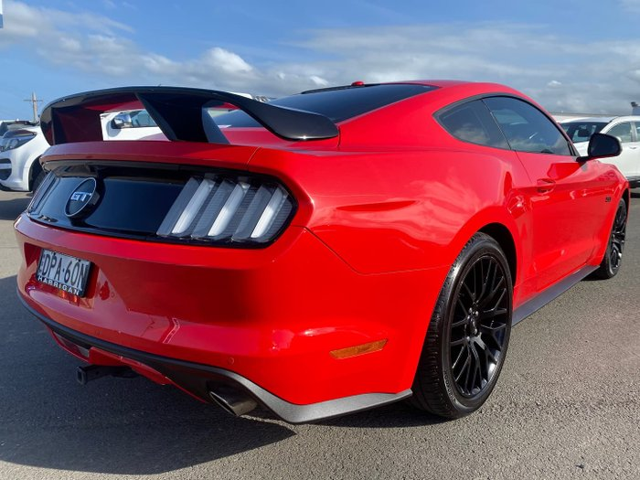 2016 Ford Mustang GT FM MY17 Race Red