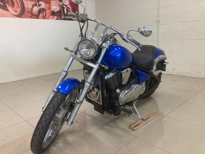 2006 Kawasaki VULCAN 900 (VN900) Blue