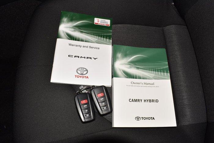 2019 Toyota Camry Ascent AXVH71R Glacier White
