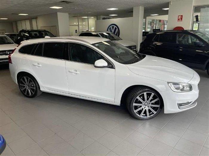 2014 Volvo V60 D4 Luxury MY14 White