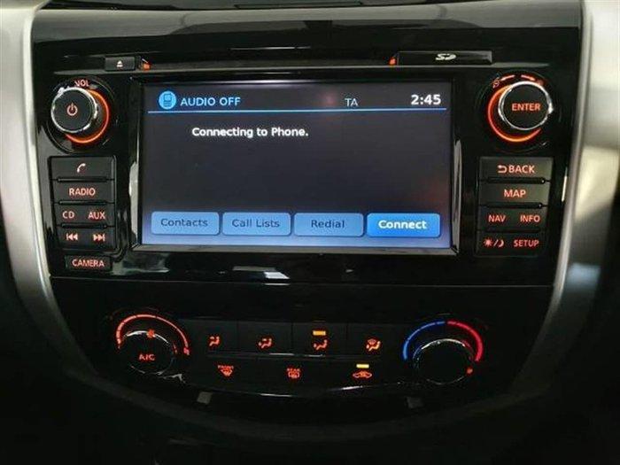 2017 Nissan Navara ST D23 Series 2 Burning Red