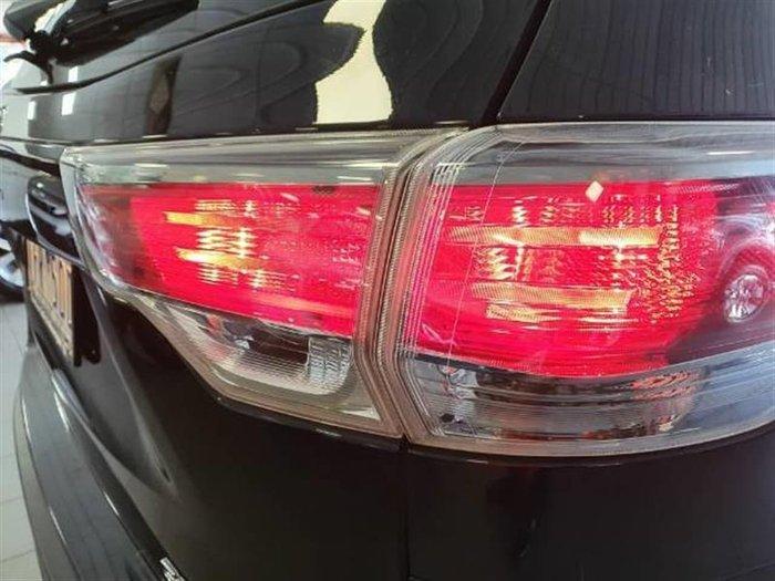 2015 Toyota Kluger Grande GSU50R Eclipse Black