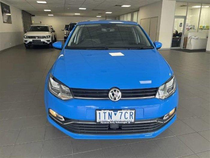 2016 Volkswagen Polo 81TSI Comfortline 6R MY17 Cornflower Blue