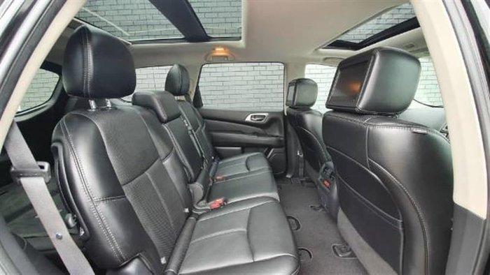 2017 Nissan Pathfinder Ti R52 Series II MY17 4X4 On Demand Diamond Black