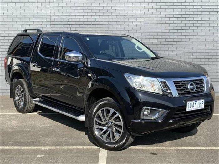 2018 Nissan Navara ST D23 Series 3 4X4 Dual Range Cosmic Black