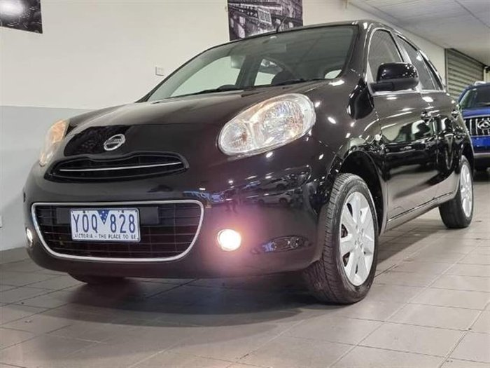 2011 Nissan Micra Ti K13 Black