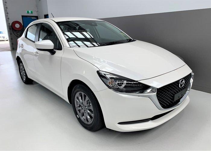 2021 Mazda 2 G15 Pure DJ Series White