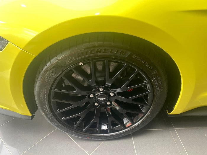 2021 Ford Mustang GT FN MY21.5 Yellow Peel