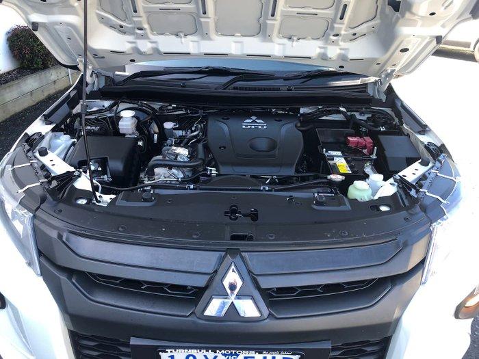 2019 Mitsubishi Triton GLX MR MY20 4X4 Dual Range White