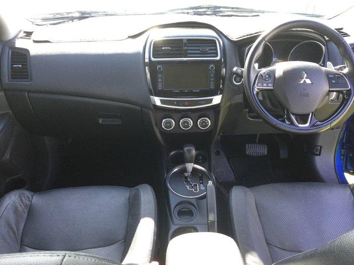 2016 Mitsubishi ASX XLS XB MY15.5 Blue