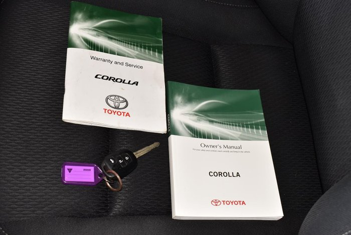 2017 Toyota Corolla Ascent ZRE172R Silver Ash