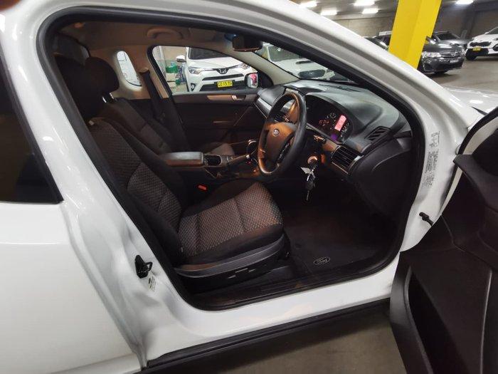 2015 Ford Falcon Ute FG X Winter White