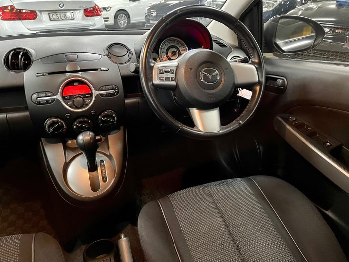 2007 Mazda 2 Genki DE Series 1 Brilliant Black
