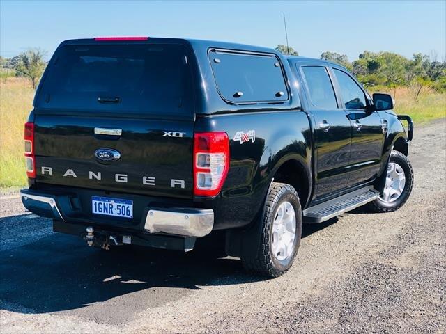 2018 Ford Ranger XLT PX MkII MY18 4X4 Dual Range Shadow Black