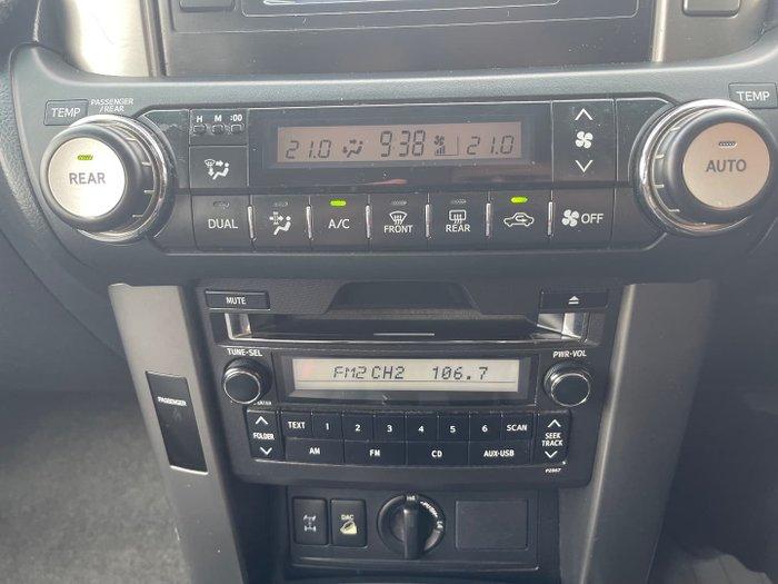 2009 Toyota Landcruiser Prado GXL KDJ150R 4X4 Constant Blue Storm