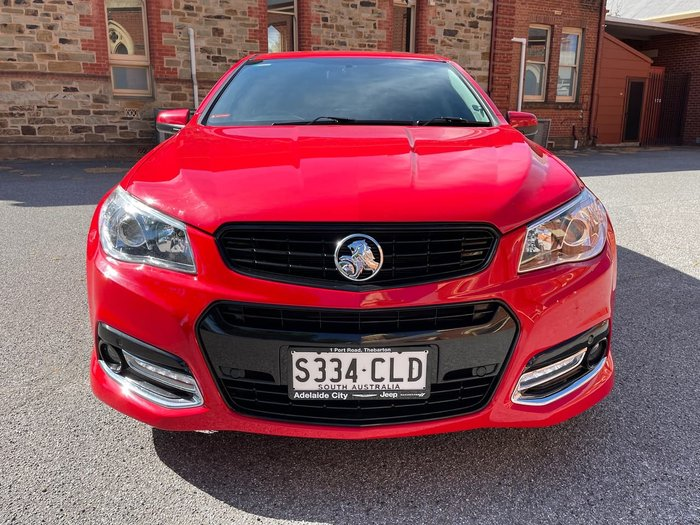 2013 Holden Commodore SS V VF MY14 Red