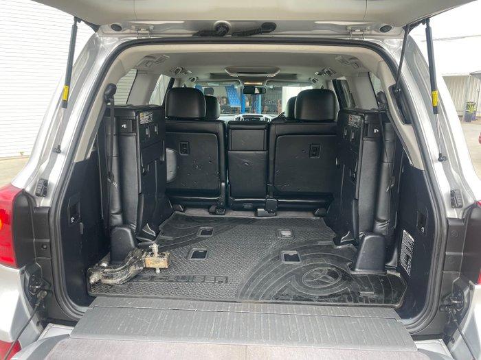 2015 Toyota Landcruiser Sahara VDJ200R MY13 4X4 Dual Range Silver Pearl