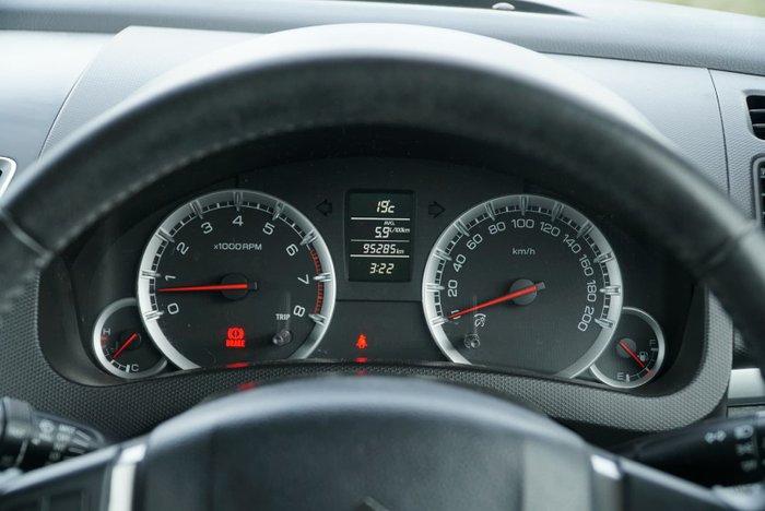 2011 Suzuki Swift GLX FZ Super Black Pearl