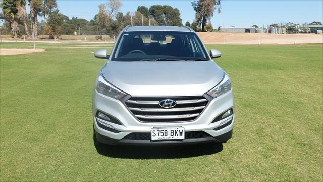 2016 Hyundai Tucson Active TL MY17 Platinum Silver