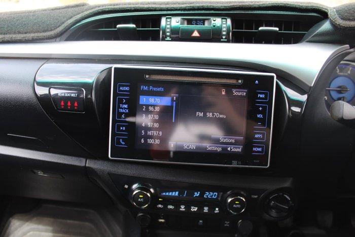 2015 Toyota Hilux SR5 KUN26R MY14 4X4 Dual Range Glacier White