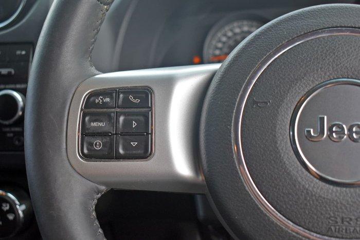 2014 Jeep Compass Blackhawk MK MY14 Bright White