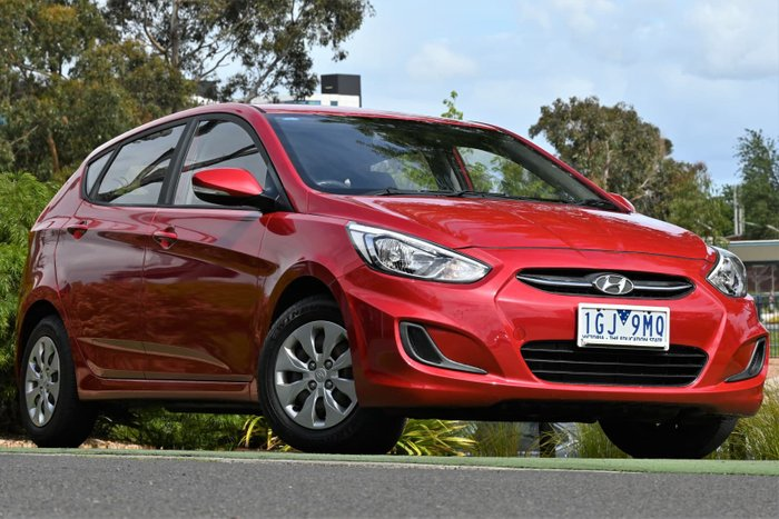 2015 Hyundai Accent Active RB3 MY16 Veloster Red