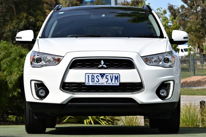 2014 Mitsubishi ASX XLS XB MY15 White