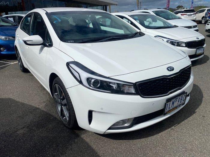 2017 Kia Cerato Sport YD MY18 Clear White