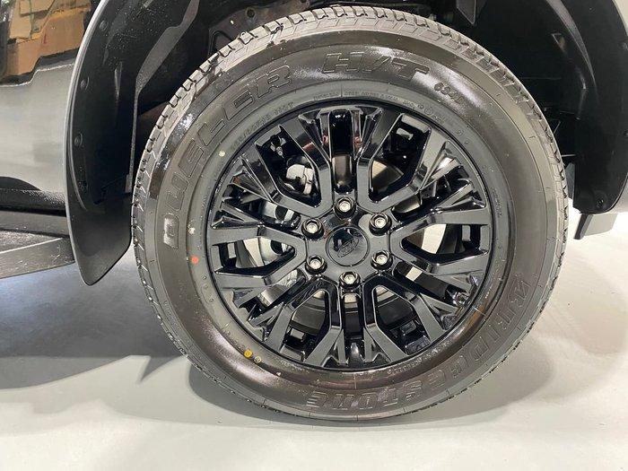 2021 Ford Ranger FX4 PX MkIII MY21.75 4X4 Dual Range Black