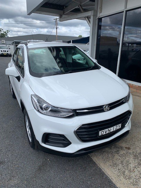 2017 Holden Trax LS TJ MY18 WHITE