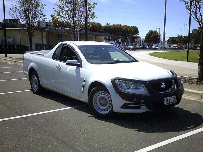 2014 Holden Ute VF MY14 White