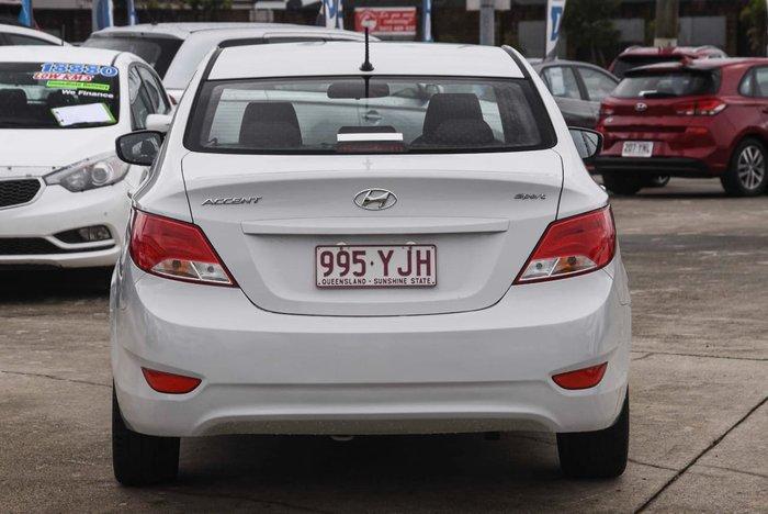 2018 Hyundai Accent Sport RB6 MY18 White