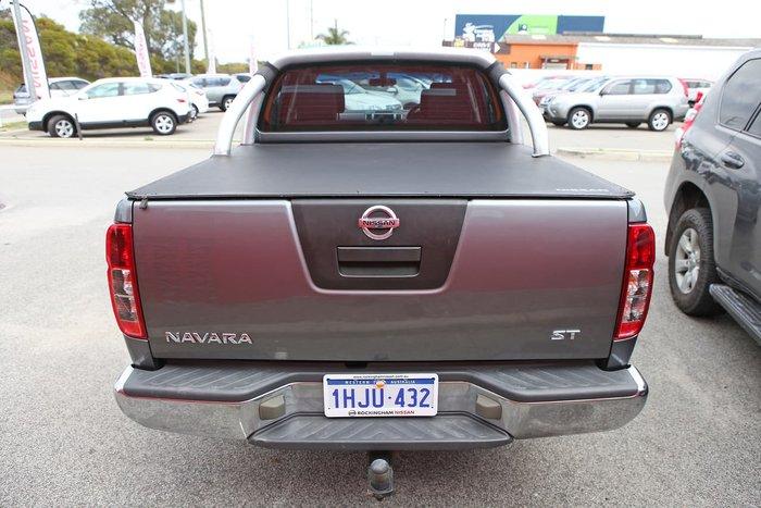2010 Nissan Navara ST D40 4X4 Grey