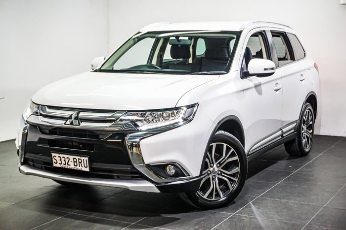 2017 Mitsubishi Outlander LS Safety Pack ZK MY17 4X4 On Demand White