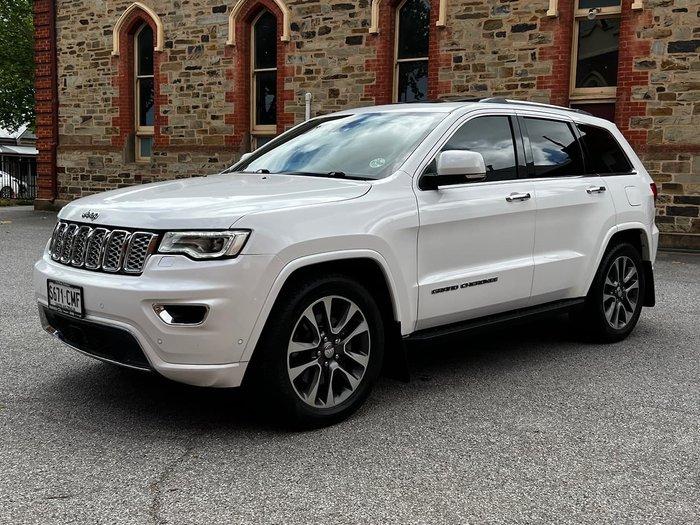 2017 Jeep Grand Cherokee Overland WK MY18 4X4 Dual Range White
