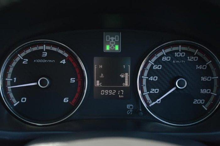 2018 Mitsubishi Triton Blackline MQ MY18 4X4 Dual Range Starlight