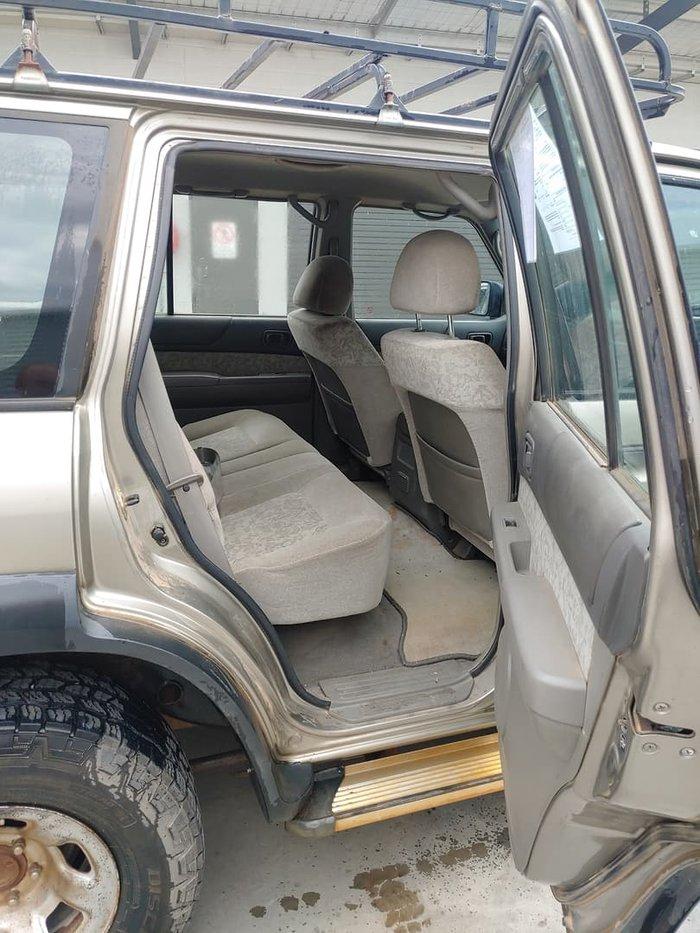 2000 Nissan Patrol ST GU II 4X4 Dual Range Grey