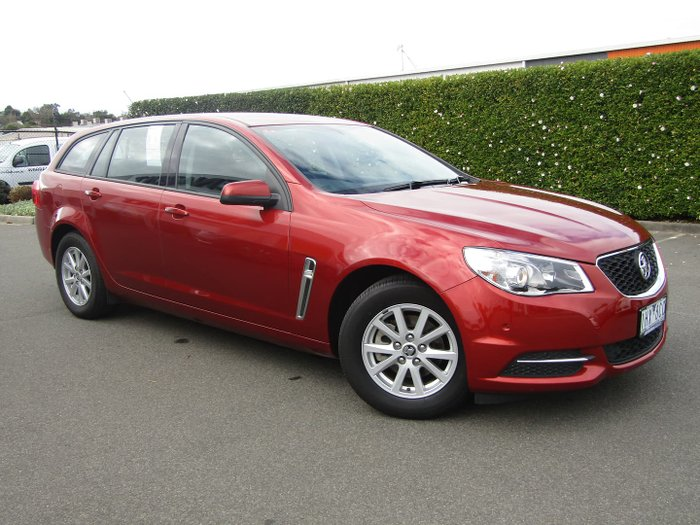 2016 Holden Commodore Evoke VF Series II MY16 Some Like It Hot Red