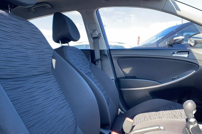 2017 Hyundai Accent Active RB4 MY17 Blue