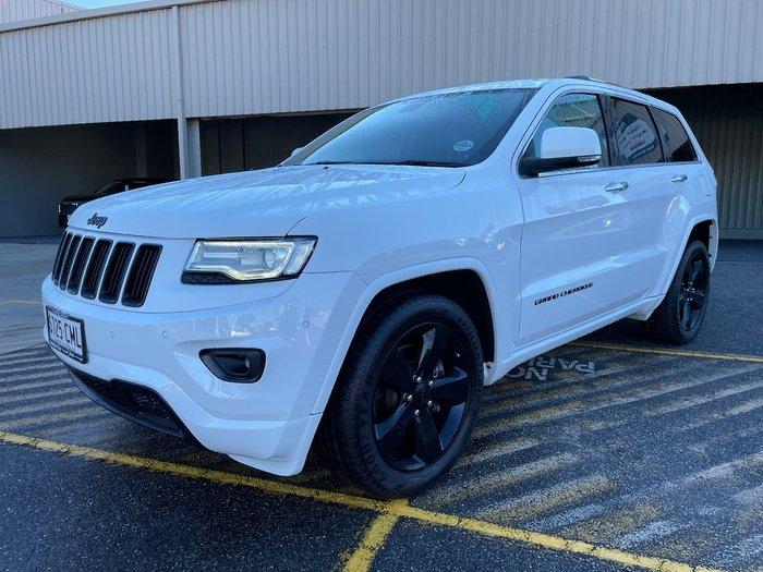 2014 Jeep Grand Cherokee Limited WK MY15 4X4 Dual Range White