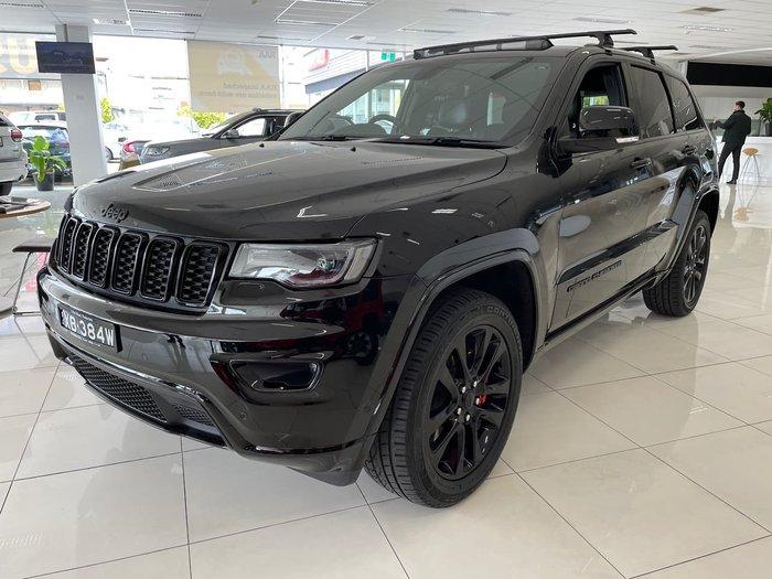 2019 Jeep Grand Cherokee Night Eagle WK MY19 4X4 Dual Range Black