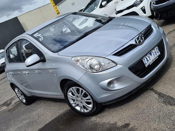 2012 Hyundai i20 Active PB MY12 Sleek Silver