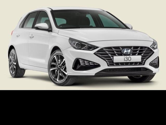 2021 Hyundai i30 2022 Hyundai PD.V4 i30 HATCH ACTIVE 2.0P AUTO POLAR WHITE