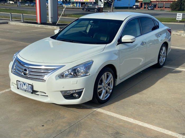2016 Nissan Altima Ti-S L33 White Diamond